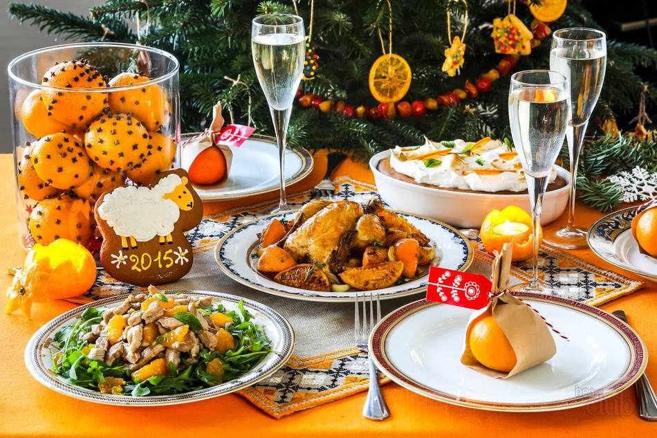 Топ-15 самых популярных новогодних блюд в россии