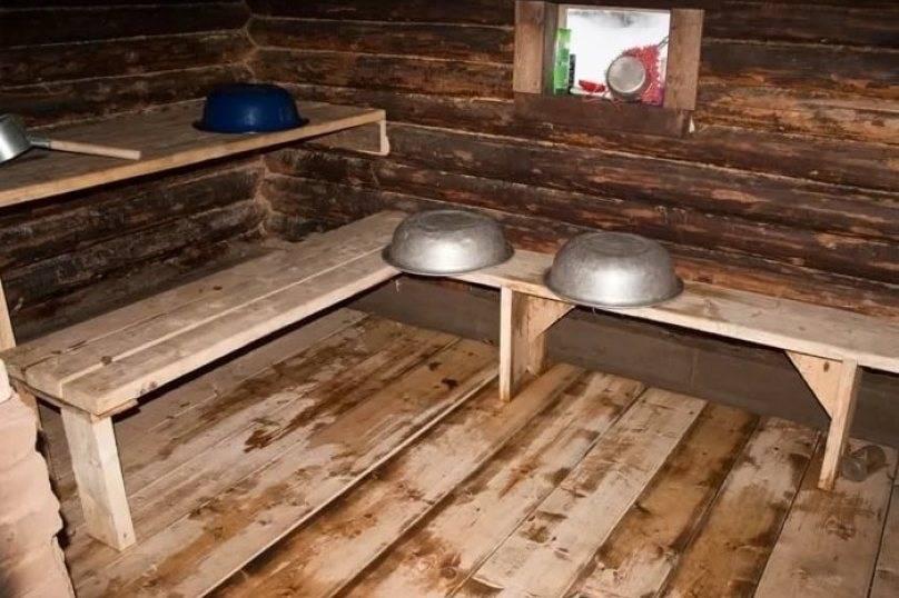 Деревенские бани своими руками - фото как построить