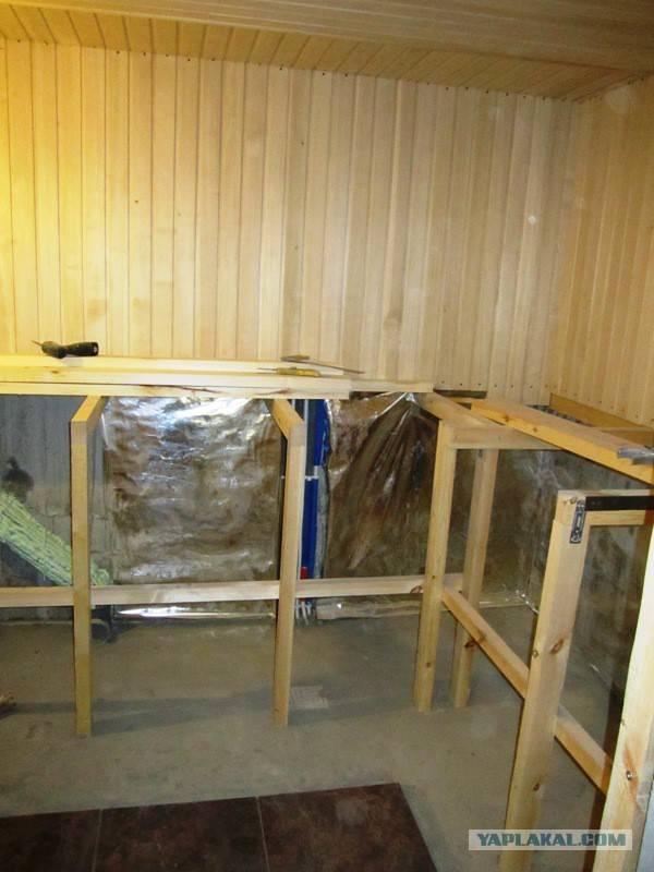 Отделка бани вагонкой: материалы, технология монтажа