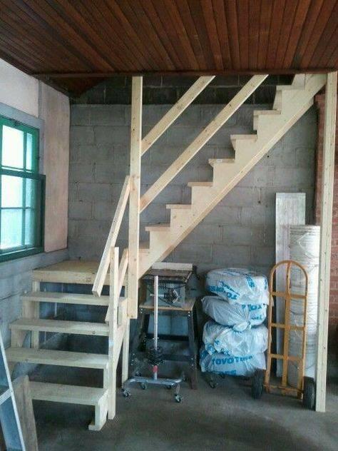 Лестница в бане: варианты, изготовление, установка