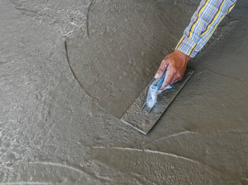 Железнение стяжки - для чего это нужно и как производится