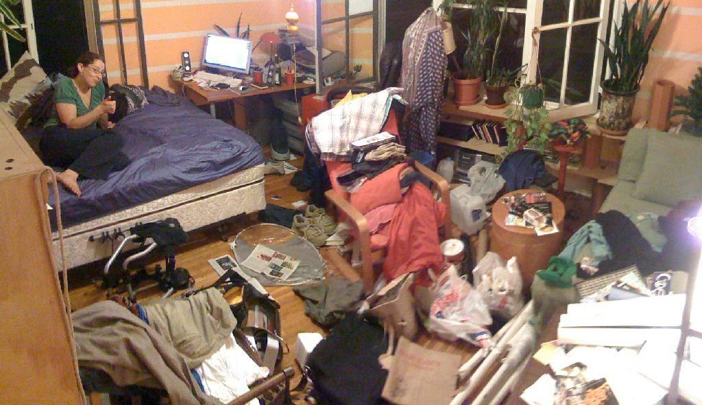 Бардак в доме = бардак в голове, или в чём причина беспорядка?