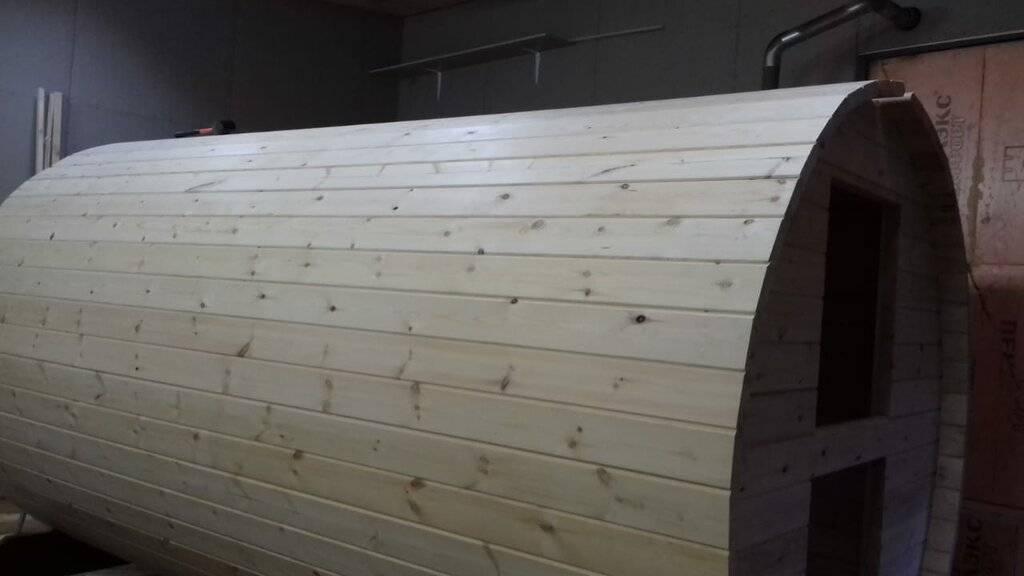 Баня бочка – взгляд изнутри, подробная фото и видеоинструкция для строительства