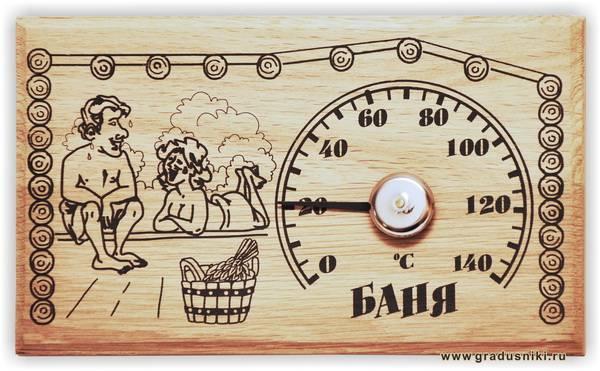Температура и влажность в русской бане: разъясняем по полочкам