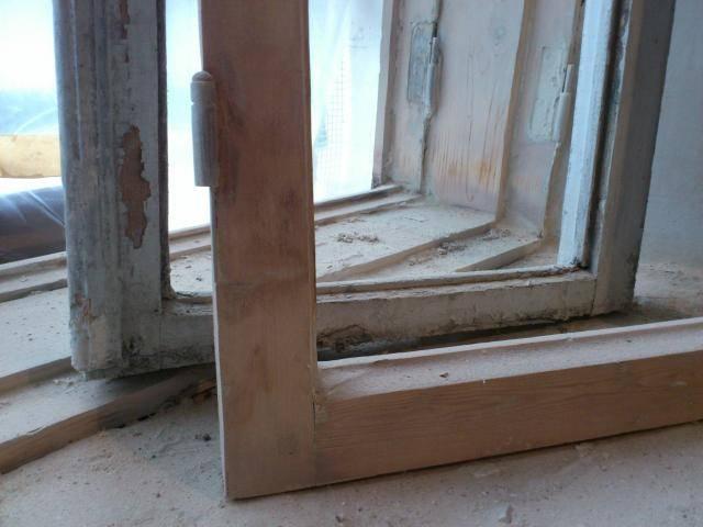 Восстановление старых деревянных окон - клуб мастеров