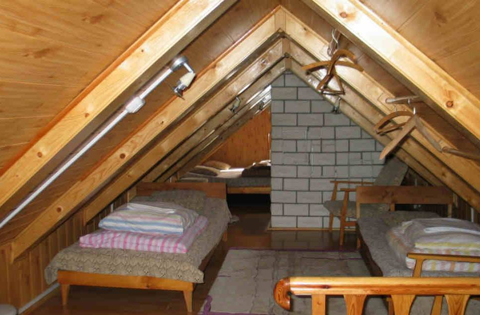 Крыша на баню своими руками мансарда
