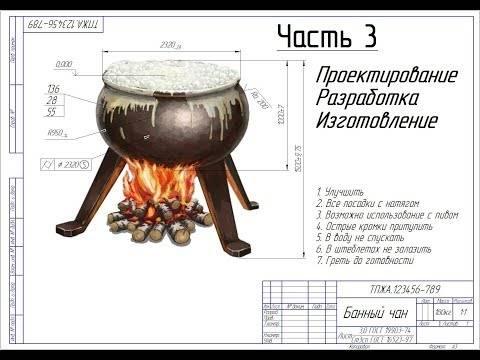 Как изготовить банный чан своими руками: пошаговая инструкция и рекомендации