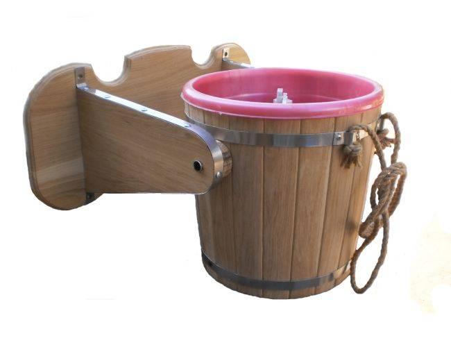 Обливное устройство для бани | строительство бани