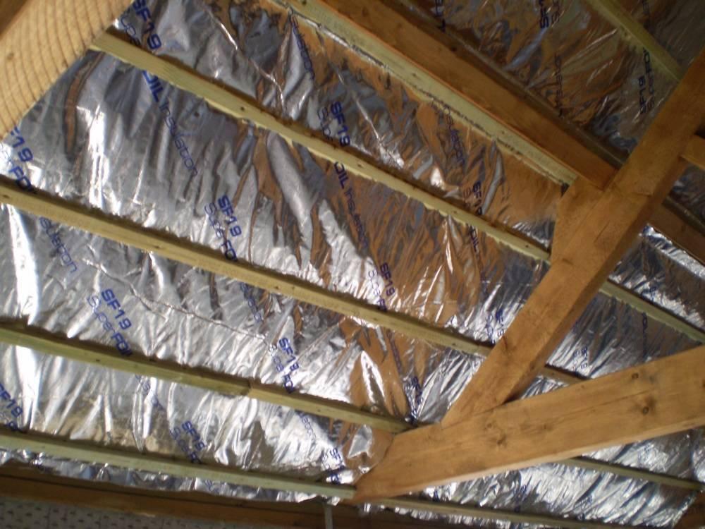 Как сделать утепление потолка в бане – варианты и способы теплоизоляции
