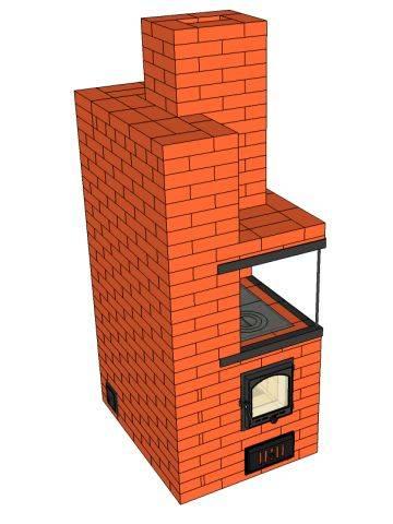 Голландская печь (голландка) - принцип работы, области применения, строительство, декор