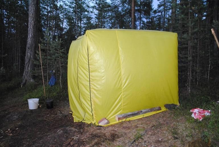 Палатка своими руками: чертежи и необходимые материалы