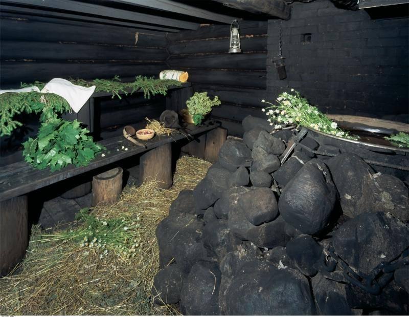 Деревенская баня по - чёрному