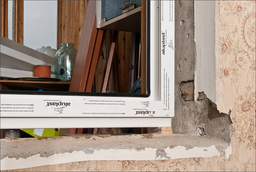 Установка пластиковых окон своими руками — пошаговая технология монтажа в фотографиях
