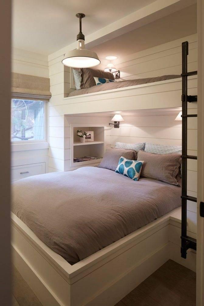 Дизайн маленьких спален: интерьер и фото 2017, как обставить очень маленькую, новинки и варианты планировки