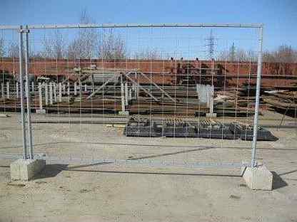 Временные ограждения для строительной площадки: виды и варианты установки