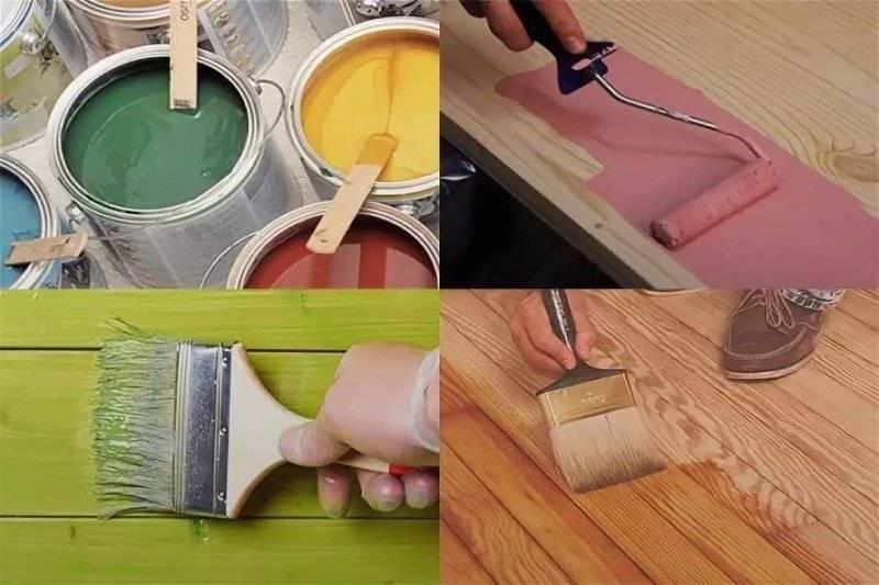 Краска для дерева для внутренних работ: какую выбрать?