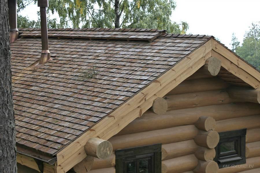 Дранка на крышу. как покрыть крышу дранкой самостоятельно?