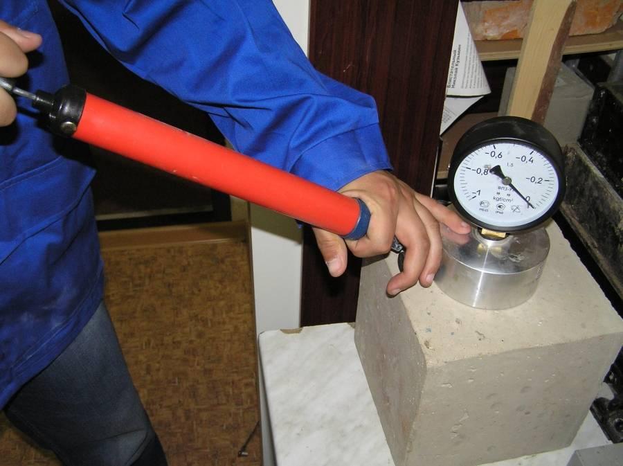 Методы испытания бетона на прочность в лабораторных условиях