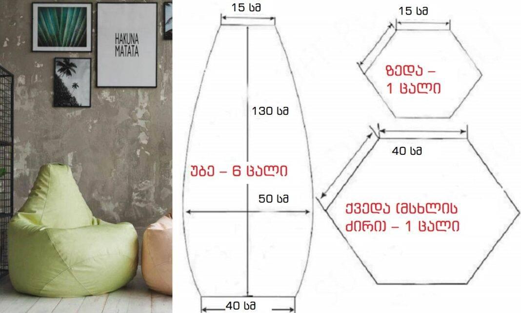 Кресло мешок своими руками | 75 фото пошаговая инструкция как сделать стильную и удобную мебель