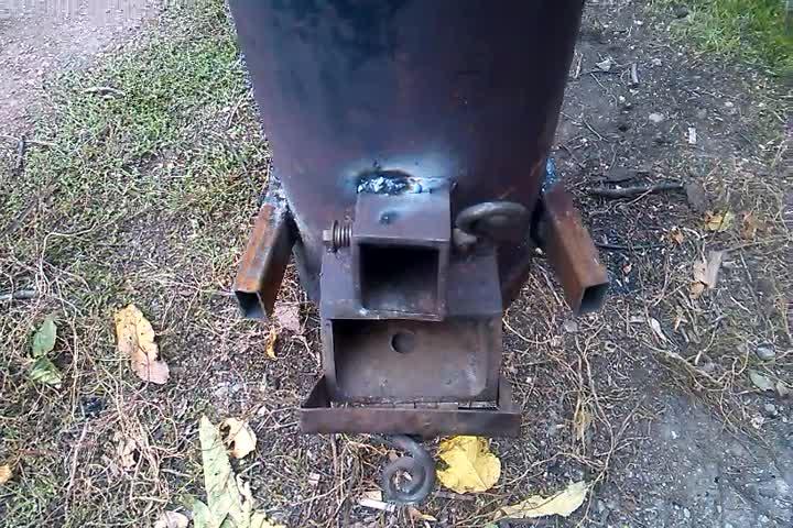 Самодельная печь из газового баллона - pechiexpert