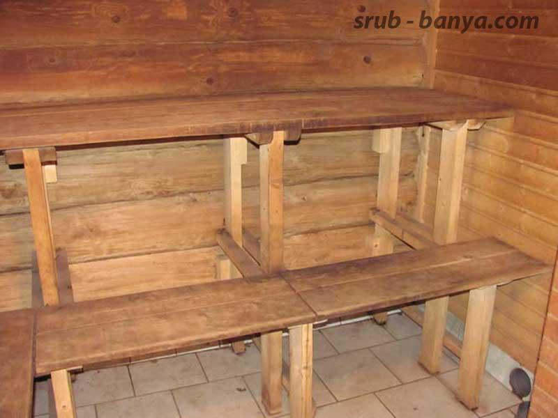Полок для бани своими руками - строительство и ремонт
