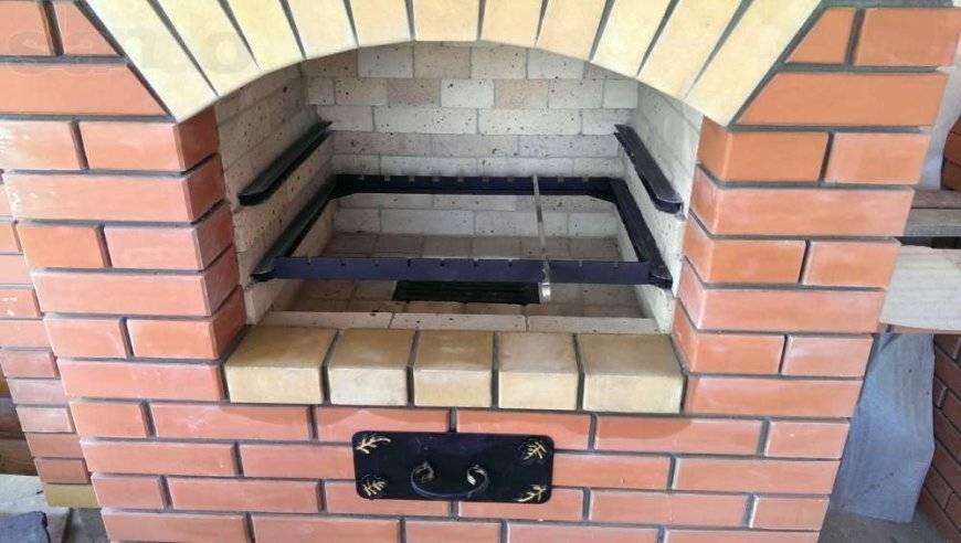 Мангал из кирпича - как построить простые и недорогие варианты жаровни
