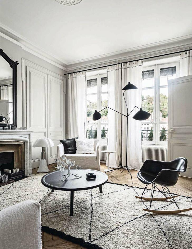 Интерьер в стиле парижских квартир