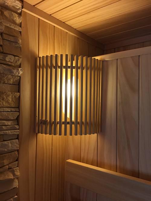 Светильники для бани и сауны: особенности выбора