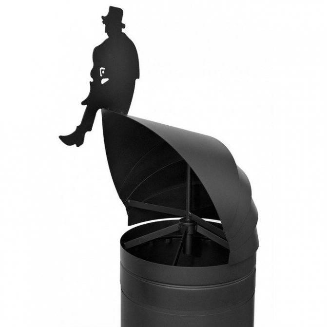 Выбор дымника на кирпичную трубу дымохода и самостоятельный монтаж изделия