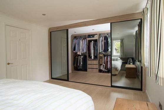 Встроенный шкаф в спальню — как правильно выбрать