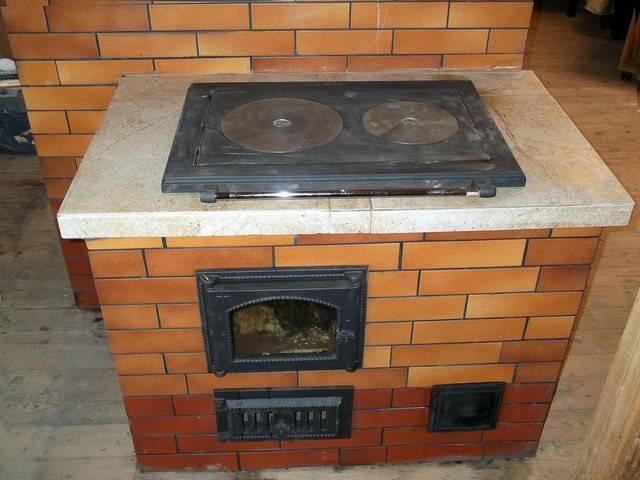 Как положить варочную плиту на кирпичную печь?