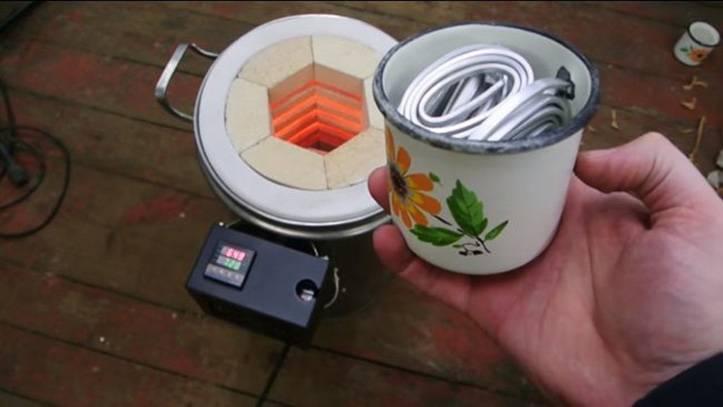 1300 градусов – и это не предел, изготовление удивительной муфельной печи своими руками