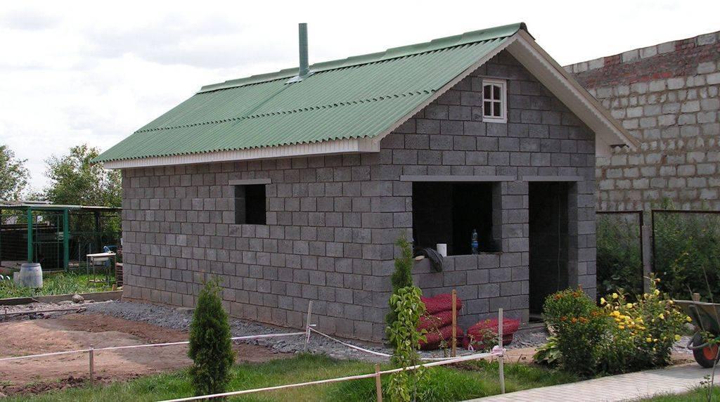 Баня из пеноблоков своими руками - самостоятельное строительство