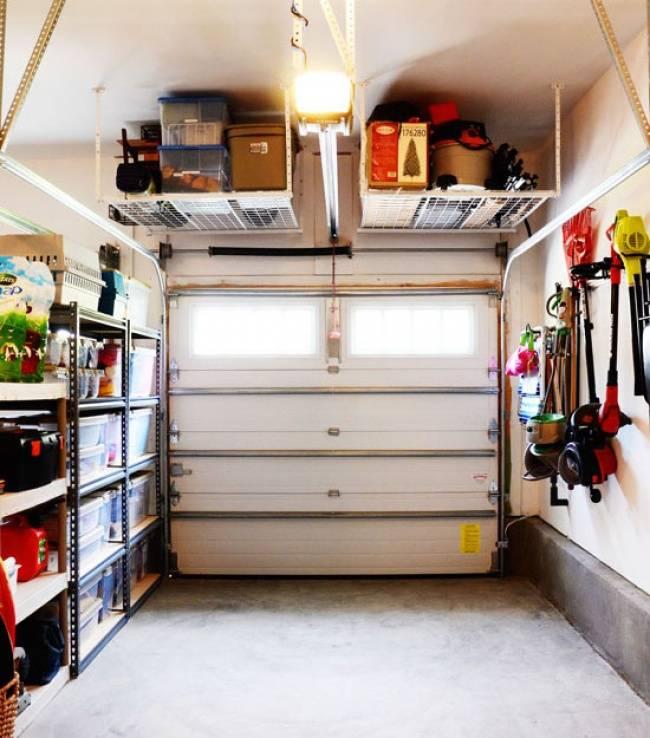 Обустройство гаража своими руками - как оборудовать гараж (+фото)