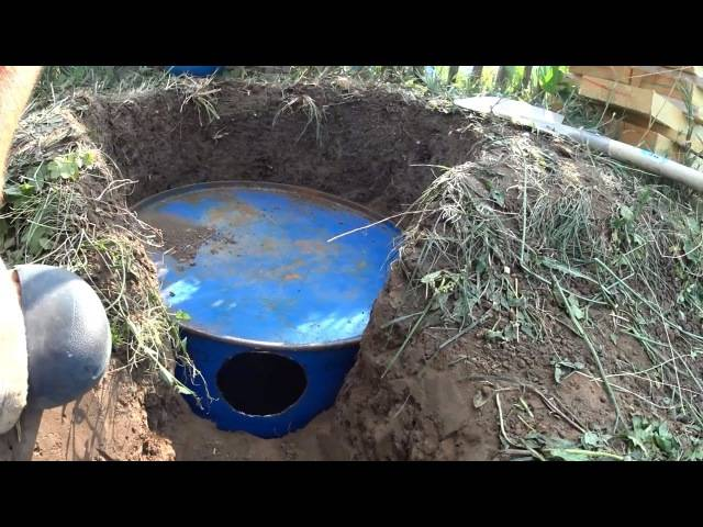 Слив в бане своими руками: яма для стока воды