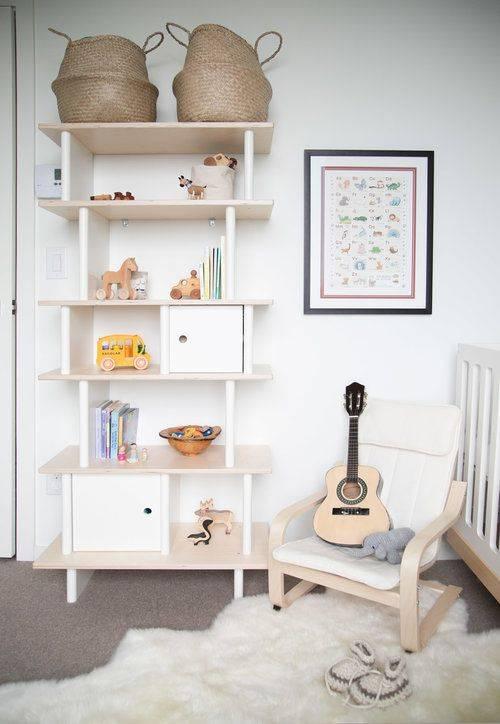 Полки в детскую – как правильно спроектировать и оформить дизайн полок для детской (125 фото)