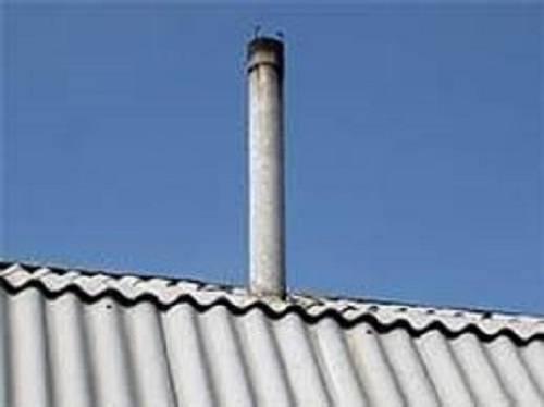 Дымоходы из асбестоцементных труб: плюсы и минусы