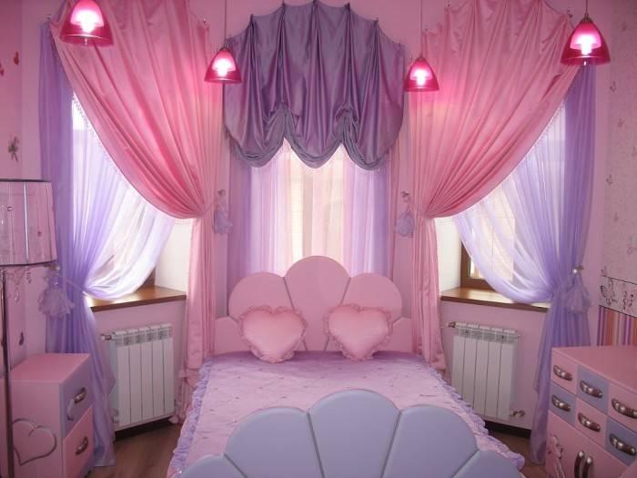 Ламбрекены в детскую (40 фото): выбираем из тюли в комнату девочки-подростка, шторы-вуали с жесткий ламбрекеном для мальчика