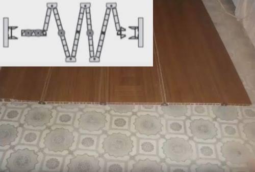 Как установить дверь гармошку: монтаж и установка межкомнатных дверей гармошка своими руками, видео, инструкция по сборке