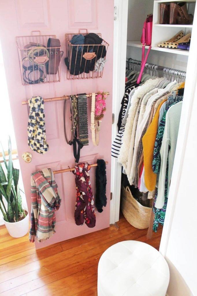 Хранение вещей в шкафу: идеи, как правильно складывать и их организация, ящики для хранения