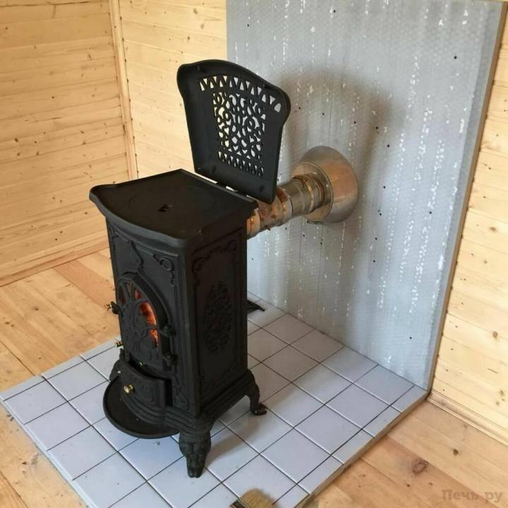 Народная печь для дачи: самый недорогой вариант
