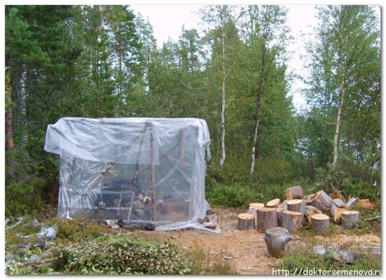 Баня походная с печкой своими руками, чертеж банной печи для переносной мобильной бани