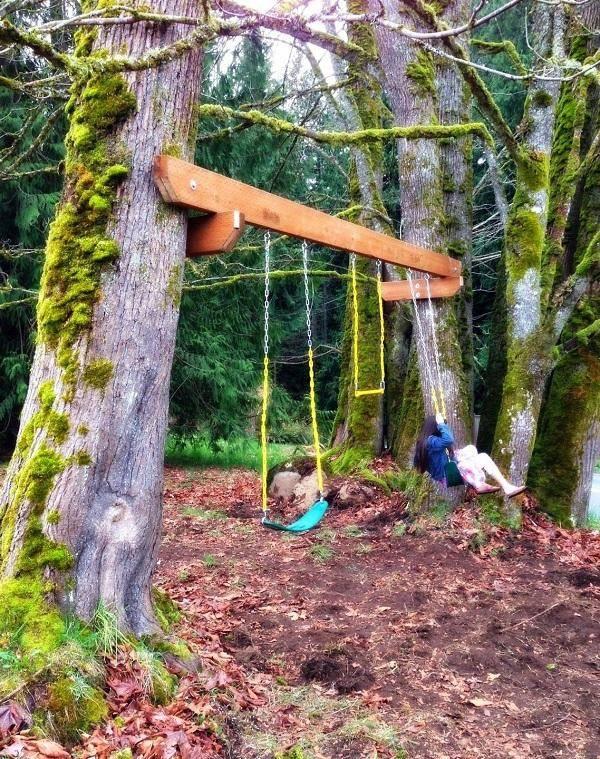 Садовые качели (59 фото): уличные модели для дачи с размерами, как собрать подвесную конструкцию для детей и взрослых