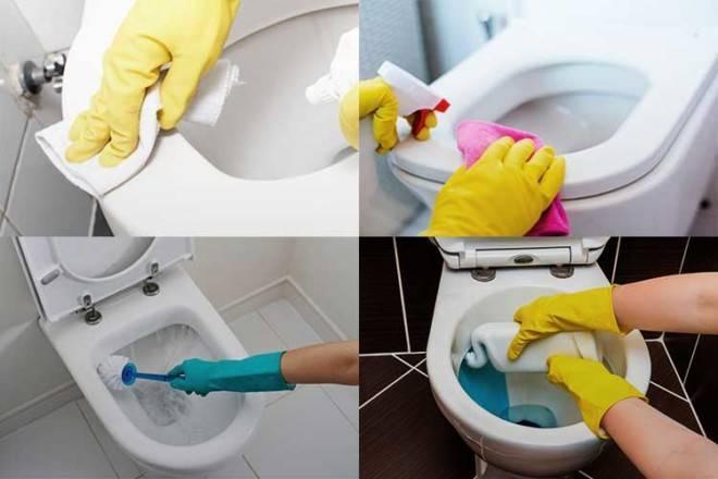 Как очистить унитаз от ржавчины в домашних условиях