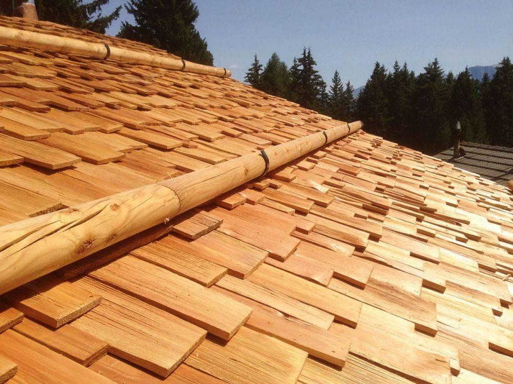 Как правильно укладывать дранку на крышу