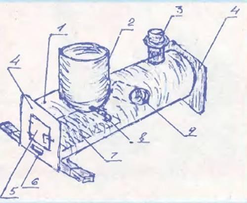 Печь для бани из трубы: как сделать своими руками, горизонтальные и вертикальные самодельные банные печки 530 мм, чертеж, фото