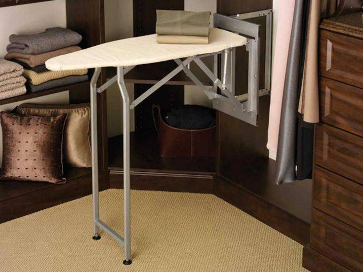 Куда деть гладильную доску, если в квартире мало места? (10 мест)