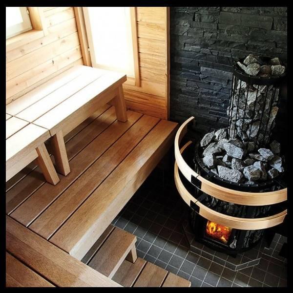 Как получить целебный пар и приятное тепло: что важно учесть при выборе печи для сауны на дровах?