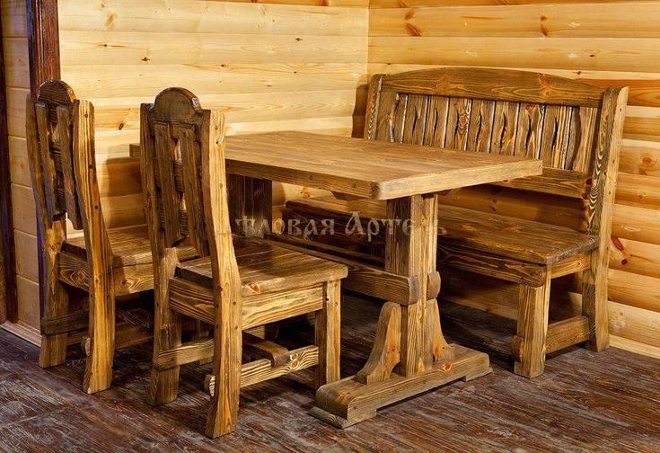 Самостоятельное изготовление деревянной мебели