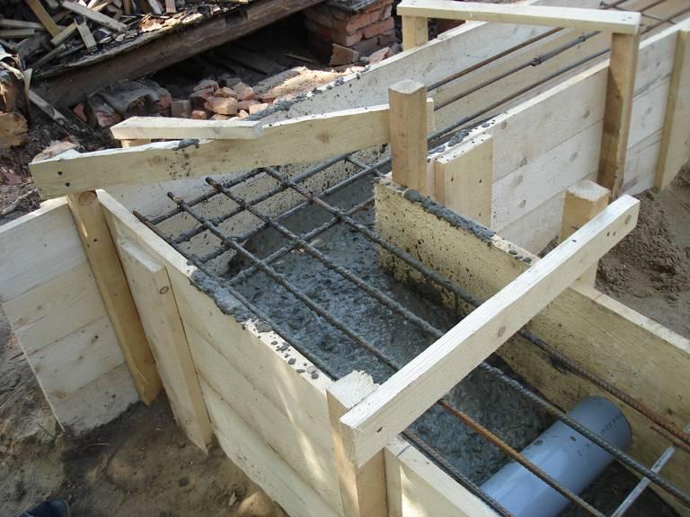 Фундамент, построенный по технологии тисэ